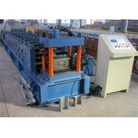 Galvanized Metal Purlin Roll Forming Machine , Door Frame Roll Forming Machine  Manufactures