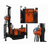 Factory Price Top Driving DHT Air Compress 350m Deep Rock Drilling Portable Water Well Drilling Rig Manufactures