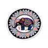 Original India Thai Roundie Elephant Beach Towel Multi Color Printed Manufactures