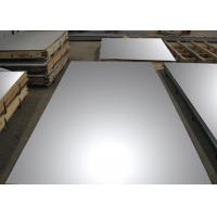 Quality Super Mirror Bright Annealed Stainless Steel Sheet , Flat Steel Plate For Wall for sale