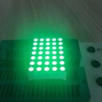 Row Cathode Column Anode 5 x 7 LED Dot Matrix Display 3mm For Mesage Boards Manufactures