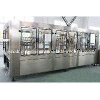 3 in 1 Water Filling/Bottling Production Machine (CGFA series) Manufactures