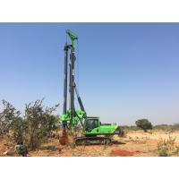 Foundation Hydraulic Piling Rig Machine , Borehole Pile Driving Rigs Drilling Depth 43m Manufactures