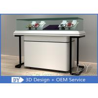 Buy cheap Modern Simple Jewellery Counters Showcases With Larage Storage from wholesalers
