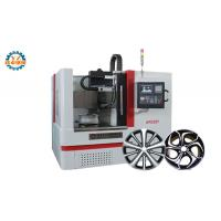China Vertical Diamond Cutting CNC Wheel Repair Lathe Machine With Touch Screen on sale