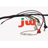 Automobile Motorcycle Wiring Harness , Motorbike Battery Charger Cables Manufactures