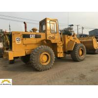 5 Ton Used Cat Wheel Loader Machine 966C With 3M3 Bucket Size 126.8 Kw Manufactures