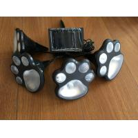 Novelty Solar Powered Animal Paw String Lights , Animal Footprint String Lights Manufactures
