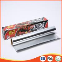 Household Aluminium Foil Roll Paper Food Grade For Cooking / Baking SGS Standard Manufactures