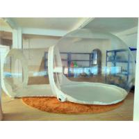 Dome Clear Inflatable Outdoor Tent Fire Retardant For Outside Play Manufactures