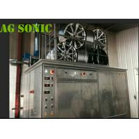 4500W Industrial Sonic Cleaning Tank / Tyre Washing Machine With Pneumatic Lift Manufactures