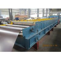 235Mpa1219mm Width Metal Tile Roll Forming Machine With Stacking Manufactures