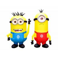 Interesting Inflatable Cartoon Characters Oxford Cloth Material With Fireproof Manufactures
