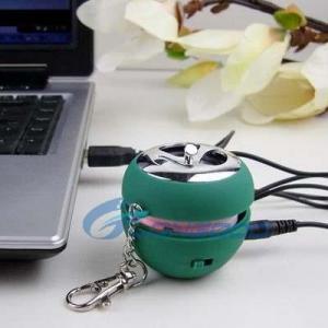 Quality New Mini Apple Shape USB Speaker for sale