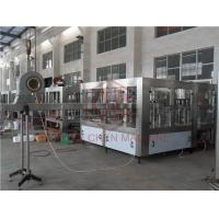 Counter Pressure CSD Carbonated Drink Filling Machine / Soft Drink Bottling Equipment Manufactures