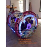 Best Amusement Park Outdoor Battery Mickey Outdoor Roller Happy Car Kids Rider for sale Manufactures