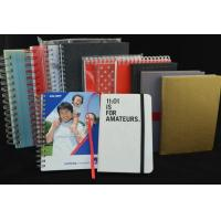 China UV Coating Surface Custom Printing Notebooks Notepads Eco Friendly ZY-117 on sale