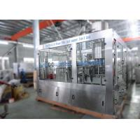China Rinsing Automatic Bottle Water Washing Filling Capping Machine 3IN1 Unit CE Marked on sale