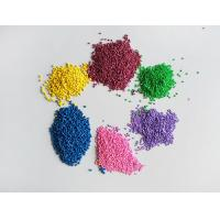 China Plastic Injection Moulding Masterbatch , Plastic Color Masterbatch For Film on sale