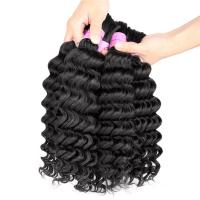 Braiding Hair 100% Human Hair Raw Unprocessed Mongolian Kinky Curly Hair Weave Manufactures