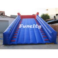 0.6mm PVC Tarpaulin Airtight Sealed Inflatable Zorb Track for Grassland Sports Games Manufactures