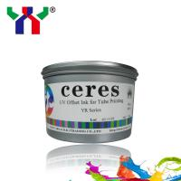 Ceres UV offset printing ink YR series CMYK for tube, flexible hose Manufactures