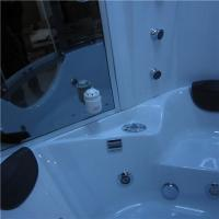 Quality Luxury Steam Shower Bathtub Combo With Spa Tub , Home Steam Shower Units for sale