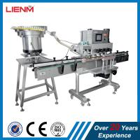Linear capping machine with bottles sensor clamping system automatic bottle jar container capper equipment custom cappin Manufactures