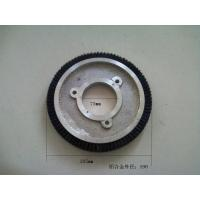 Textile Machinery Stenter Brushes Roll Cotton Spindle Nylon Bristle Aluminum Body Manufactures