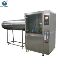 Custom Stainless steel Ipx3 Ipx4 Ipx5 Ipx6 Water spray resistance test chamber Manufactures