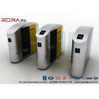 Turnstile Barrier Gate Stainless Steel Security Swing Gate DC Brush Motor 1500mm Sliding Gate Height Manufactures