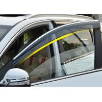 Injection Molding Window Visors with Trim Stripe For Chery Tiggo5 2014 2016 Manufactures