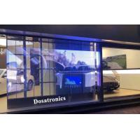 Buy cheap HD Video P3.9mm X 7.8mm Transparent LED Display For Glass Window Screen from wholesalers