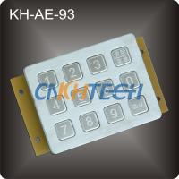 Stainless steel numeric keypad Manufactures