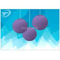 Colorful Chinese Round Paper Lanterns / Paper Party Lanterns, available in different colors and sizes Manufactures