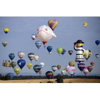 Cute Fireproof Customized Inflatable Advertising Air Balloons Parachute Cloth Manufactures
