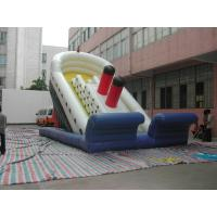 Cute Sponge Bob Inflatable Sports Games , Inflatable Slide For Children Manufactures