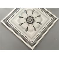 Quality Customized Decorative Pvc Ceiling Tiles , Waterproof Ceiling Tiles Bathroom for sale