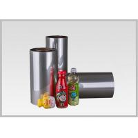 Eco Roll Petg Shrink Film For Drink Packaging , Clear Heat Shrink Wrap Film for sale