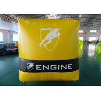 Buy cheap PVC Tarpaulin Inflatable Water Buoys For Water Game , Inflatable Floating Marker from wholesalers