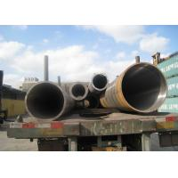Petrochemical Industry Hot Rolled Steel Pipe , Seamless Carbon Steel Pipe32'' 813mm OD Manufactures