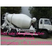 dongfeng 153 yuchai 4*2 LHD/RHD 180hp 6cbm 4*2 small concrete mixer truck for sale. Best price cement mixer truck Manufactures