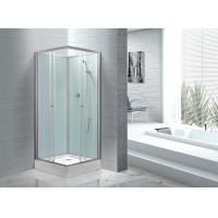 Fitness Halls 800 X 800 Glass Shower Cabin With Silver Aluminum Frame Manufactures