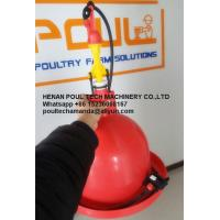 Poultry & Livestock Farm Plastic Red Orange Automatic Plasson Chicken Drinker for Chicken Deep Litter System Manufactures