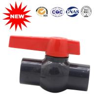 Buy cheap PVC Ball Valve Water Supply Fittings PVC Ball Valve For Water System from wholesalers