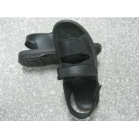 Hard Fold Black ESD Anti Static Shoes Wear Resistant For Electronics Fields Manufactures