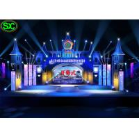 China P4.81 Stage Led Screens Board , High Brightness Led Display Rental For Concert on sale