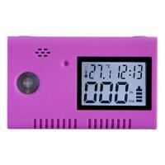 EN50291 UL2034 USB Carbon Monoxide Alarm Detector for travellers Manufactures