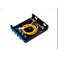 LC FC SC 4 Port Fiber Optic Distribution Frame ODF 8 Port Black Terminal Box ODF Manufactures