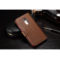 Drop Protection Redmi Note 4 Leather Case , Vintage No Scratch Redmi Note 4 Flip Cover Manufactures